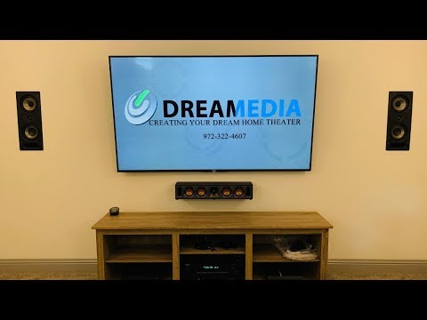 Polk Audio 5.1.4 Dolby Atmos Theater by DREAMEDIA + PATIO and LIVING ROOM INSTALL