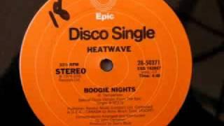 70's disco music - Heatwave - Boogie Nights 1976
