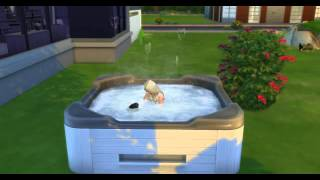 woohoo in the hot tub sims 4