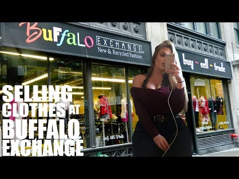 SELLING CLOTHES AT BUFFALO EXCHANGE | MY EXPERIENCE