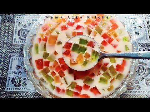Resep Es Jelly Susu Modal Sedikit Untung Banyak : Mama Azka Kitchen