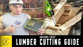 Awesome Cheap Lumber Cutting Guide (Timber Tuff)