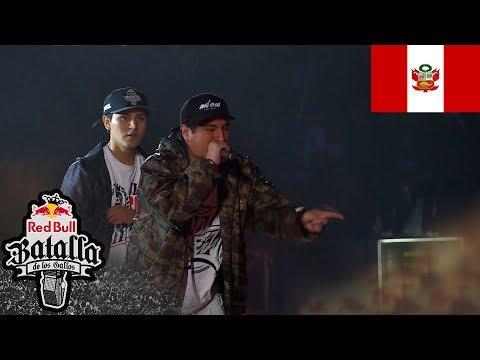 GHOST vs CHOQUE - Final: Final Nacional Perú 2017 - Red Bull Batalla de los Gallos
