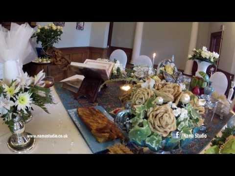 Traditional Iranian Sofreh Aghd,iranian wedding photography & videography london, persian wedding