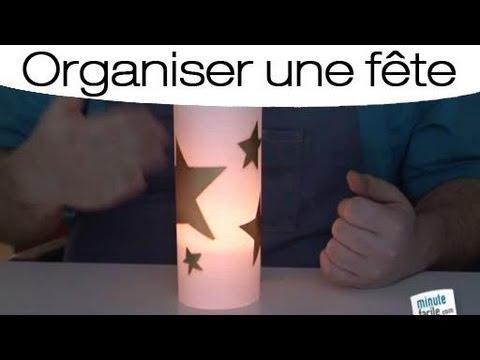 Comment cr er un lampion en papier youtube - Comment faire un photophore en papier calque ...