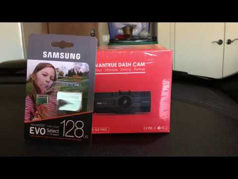 Vantrue N2 Pro Dash Cam Unboxing And Install