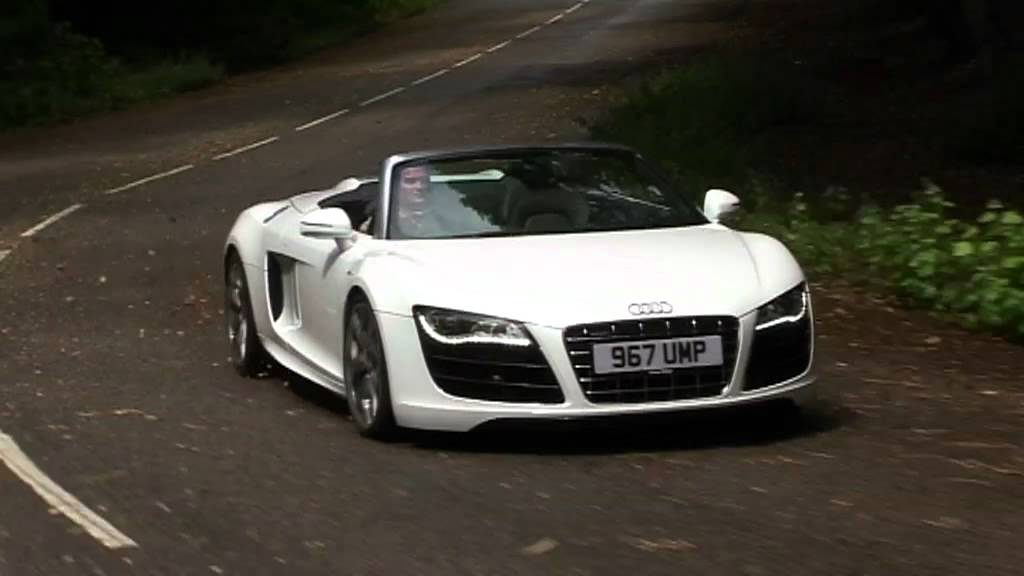 Audi R8 Spyder review - YouTube