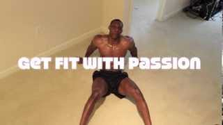 7 minutes AB workout with Wes