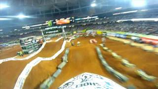 GoPro HD:  Atlanta Race Monster Supercross 2011