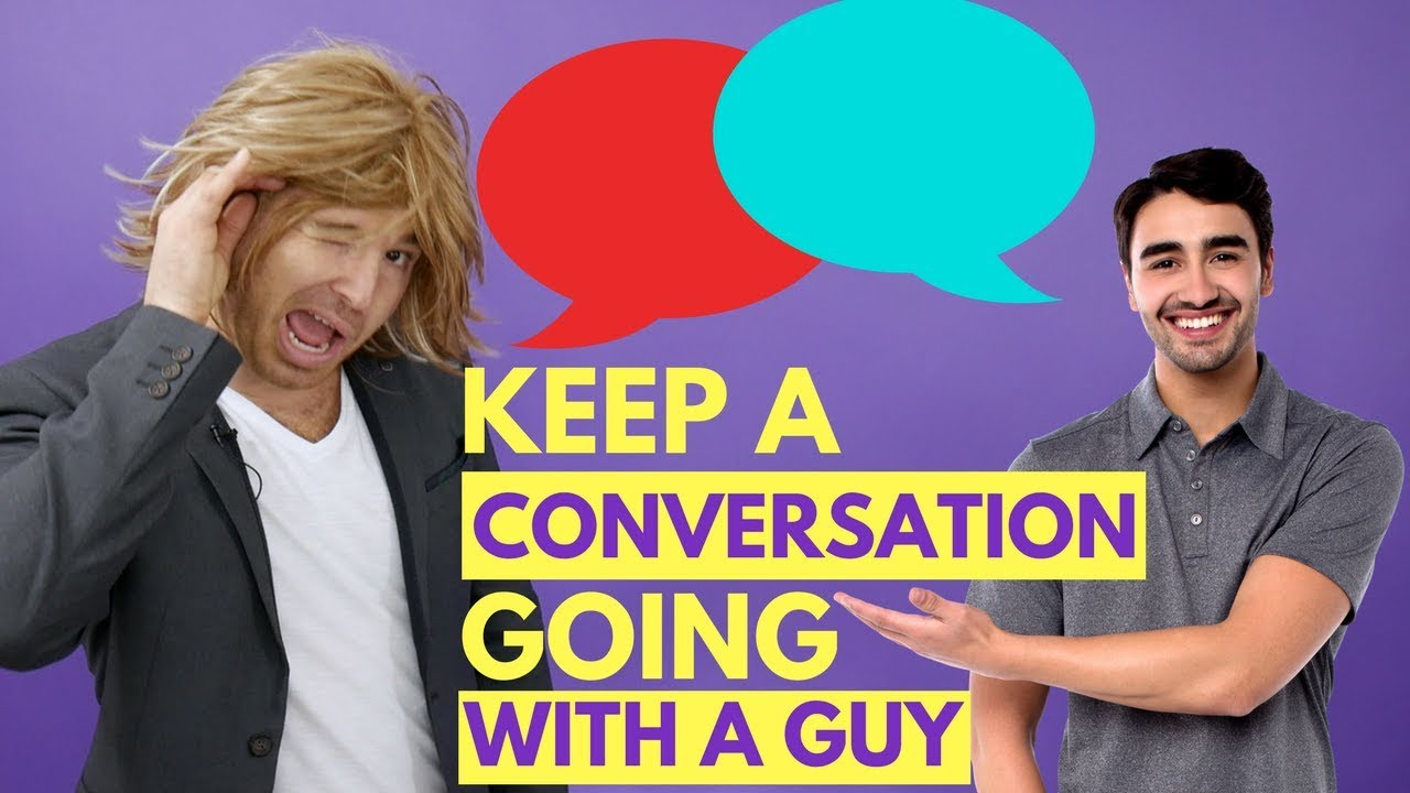 how to keep a text conversation going with a guy