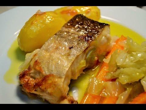 Receita de bacalhau à lagareiro com legumes by necasdevaladares