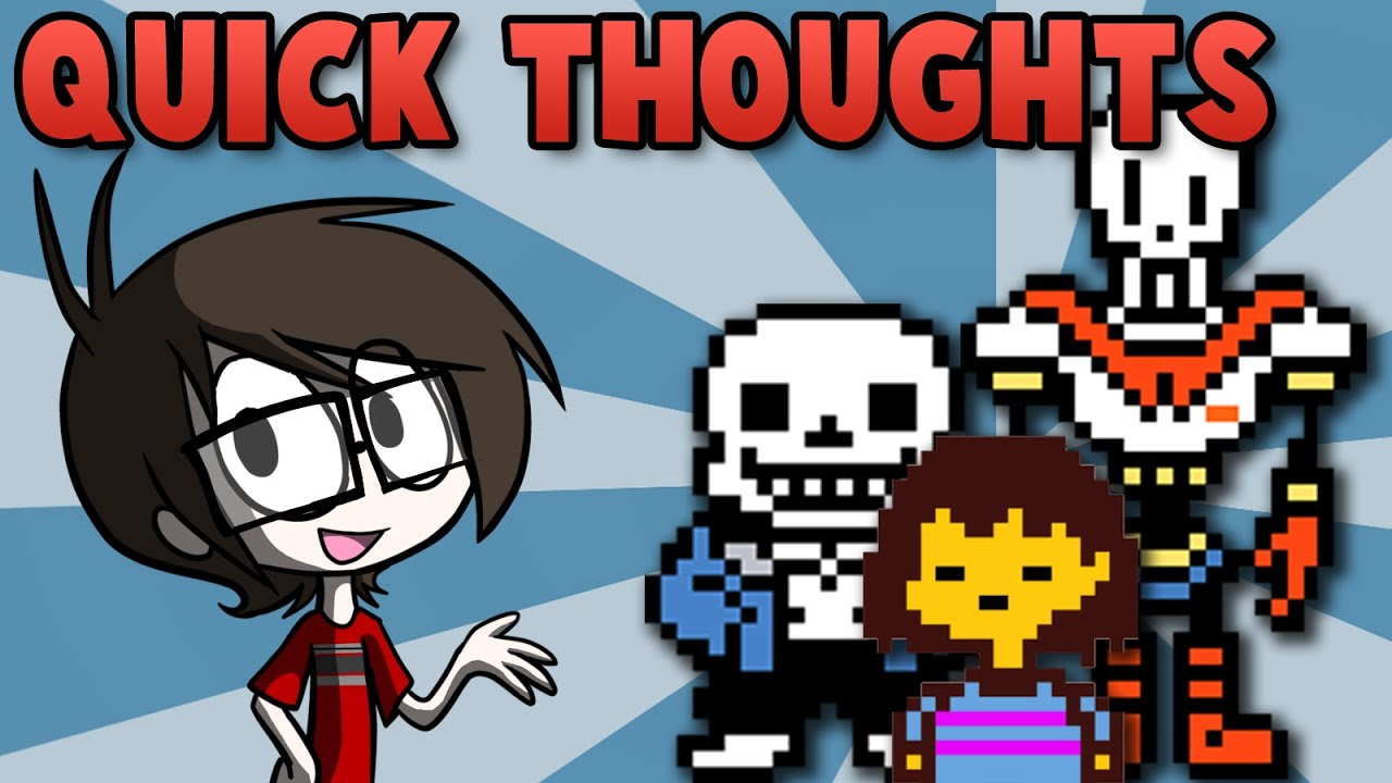 Quick Thoughts Undertale 1 Year Anniversary Youtube