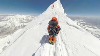 360° climbing mount everest