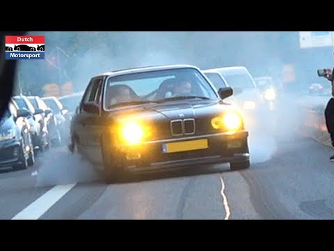 Best Of Street Burnouts 2019 - Skyline, LaFerrari, SRT-8 Hellcat, Murcielago, Supra, Mustang,...