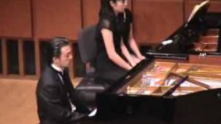 Ravel Piano Concerto for the Left Hand (2 Pianos,3 Hands) - Tchinai