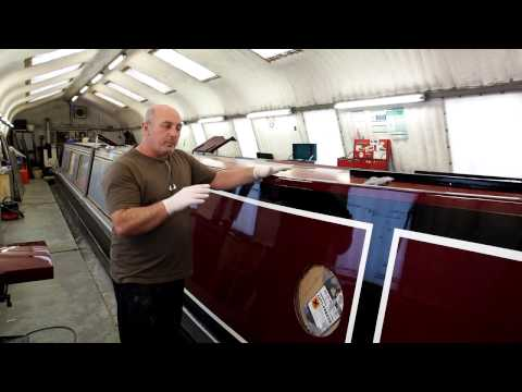 How to Paint Your Narrowboat Part 7