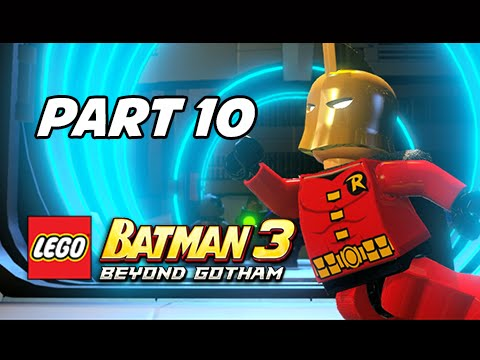 Lego Batman 3 Beyond Gotham Walkthrough Part 10 - Doctor Fate