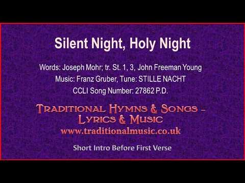Silent Night, Holy Night(BH091~Mp597)-Christmas Carol, Lyrics & Music