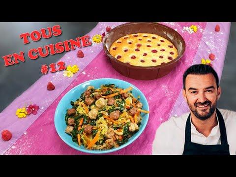 tous-en-cuisine-#12-:-je-teste-le-riz-sautÉ-et-le-financier-aux-framboises-de-cyril-lignac-!