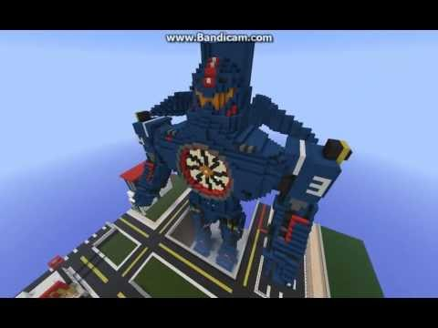 Minecraft Pacific Rim Gipsy Danger