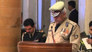 IPS Probationers of 64 RR (2011 Batch) calls-on the President - 13-12-12 - Part 1