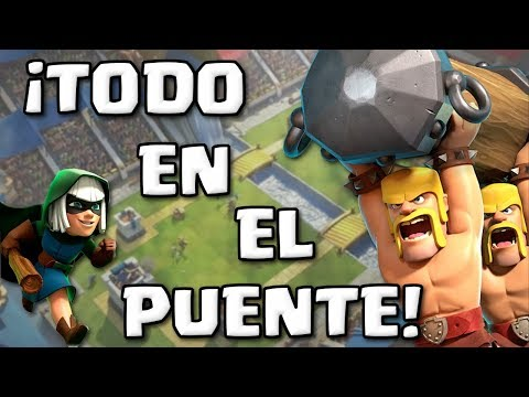 EL MAYOR COUNTER DE LOS MAZOS PESADOS! BRIDGESPAM, TIRAR TODO EN EL PUENTE!   Clash Royale Español