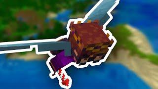 A Minecraft Speedrun, But I Start with an Elytra...