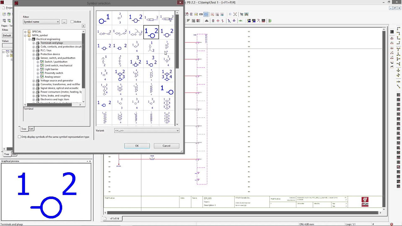 eplan electrical drawing software