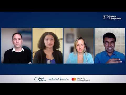 2021 Reach Symposium Roundtable: John McArthur, Sydney Piggott, Zia Khan and Dr. Samantha Nutt