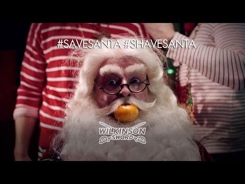 Wilkinson Sword #ShaveSanta or #SaveSanta: Video Leaked