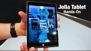 Best Small Tablet at MWC 2015? Jolla Tablet hands-on
