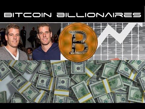 Bitcoin Billionaires - Winklevoss Twins Hit First Milestone