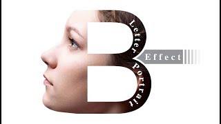 Wie Erstellen Brief Portrait | Schriftzug ''B''