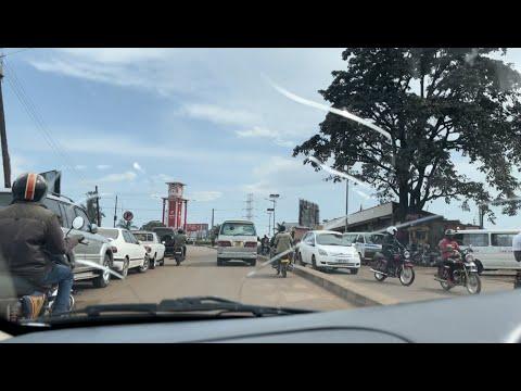 Kampala-Entebbe Road
