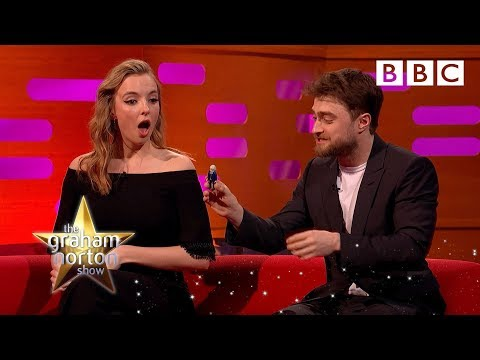 Daniel Radcliffe has too many toys of himself  - BBC The Graham Norton Show