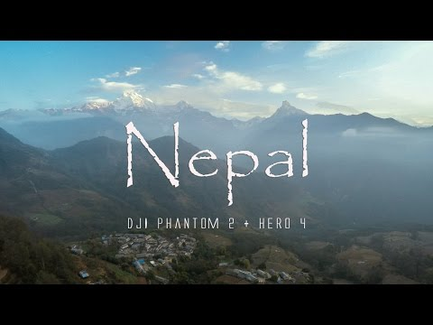Drone over Nepal (DJI Phantom 2 + HERO 4)