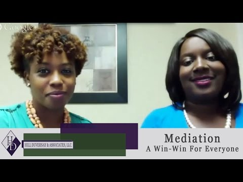 """Mediation:  A  """"Win-Win""""  For Everyone"""