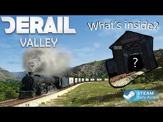 Derail Valley - Stream #4 (Failed Long Hauls, Money Duping?! And Got into bobs garage!!!)