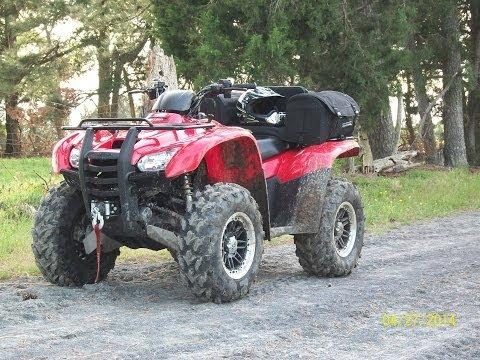 "Honda Rancher 420AT: ""Swamp Lites"" Shakedown Ride"