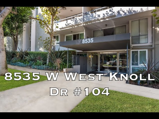 8535 W West Knoll Dr #104, West Hollywood CA 90069