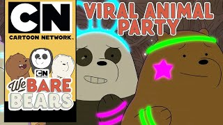 We Bare Bears | Viral Animal Party | Cartoon Network UK