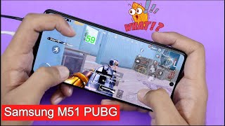 Samsung Galaxy M51 PUBG Mobile Gaming Test With FPS | Smooth Extreme 60 FPS Gameplay