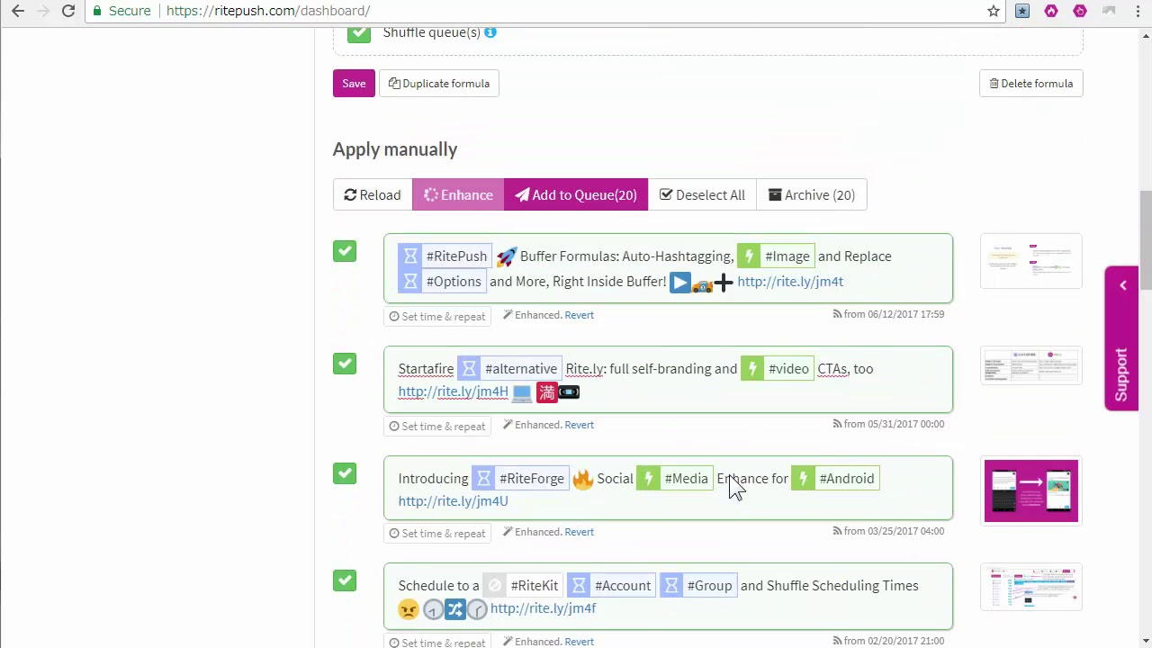 Why and How to use the RiteBoost Bulk Creator for Social Media Automation