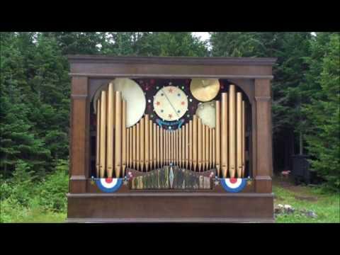 Fair Organ  Pipe Organ music Circus player 1920