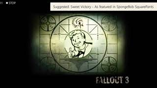 (LET'S GO SUNNING) SOUNDTRACK FALLOUT 3
