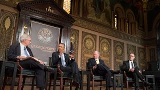 The President Joins a Conversation on Poverty