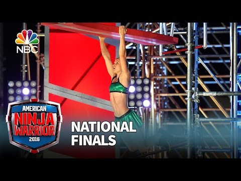Jessie Graff at the National Finals: Stage 2 - American Ninja Warrior 2016