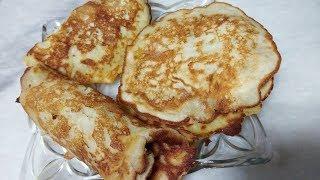 Banana pancakes Recipe | fluffy Banana Egg Pancakes-Quick & Easy Banana sweet Recipe