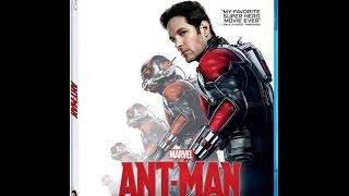 Baixar Ant Man Blu Ray  Unboxing!
