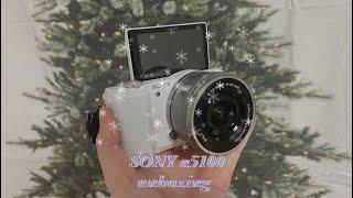 Unboxing| 소니 미러리스 카메라| a5100